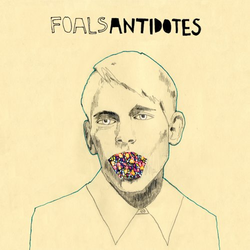 Original album cover of Antidotes by Foals