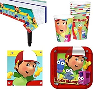 Disney handy manny birthday party supplies for for Handy manny decorations