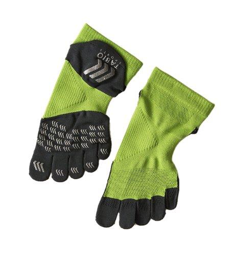 (Tabio) racing run / Pro five finger socks 25 ~ 27 cm lime