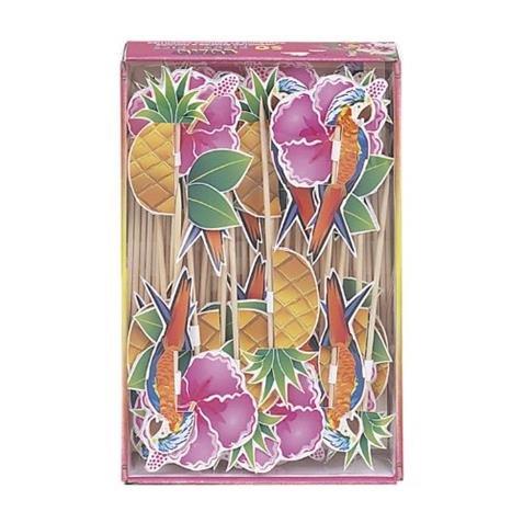 Tropical Luau Party Picks 50ct. tropical luau party picks 50ct