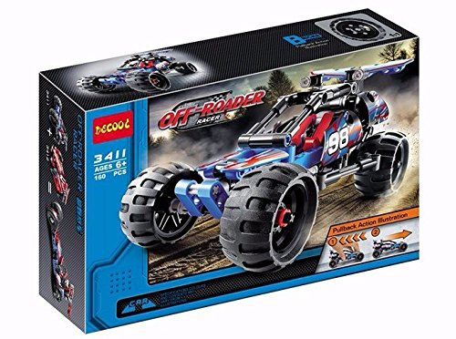 Cool New build Block Toy OFF Roader Racer King Steerer collection Model 3411 (Rc 1 10 Trailer Kit compare prices)