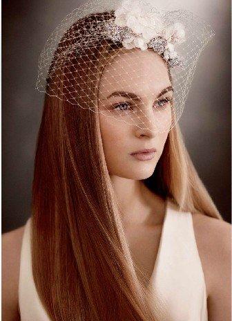 Vera WangWHITE BY VERA WANG bought a new elegant bridal veil veil VW370161 crystal
