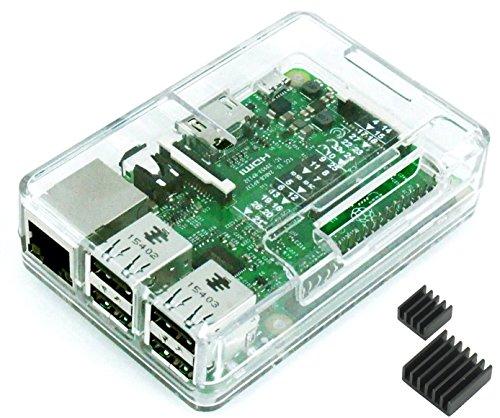 Raspberry Pi3 Model B ボード&ケースセット (Elem...