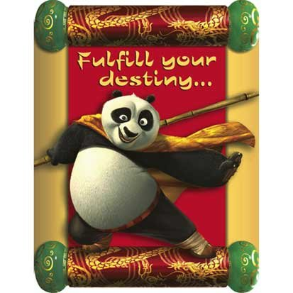 Kung Fu Panda Invitations 8ct