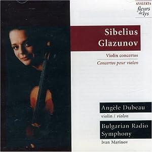 Violin Concertos: Sibelius, Glazunov: