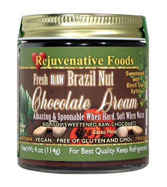 Raw Bittersweet Brazil Nut Chocolate Dream W/ Xylitol – 18 oz