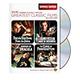 TCM Greatest Classic Films Collection: Hammer Horror (Horror of Dracula / Dracula Has Risen from the Grave / The Curse of Frankenstein / Frankenstein Must Be Destroyed)by Peter Cushing