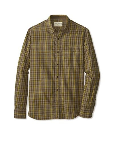 French Connection Men's B-52 Check Long Sleeve Shirt