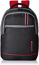 Safari 25 Ltrs Black Casual Backpack (Fusion-Black-LB)