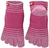 Injinji Performance Yoga Original Micro CoolMax Toe Socks-Orchid-Large