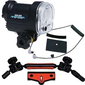 Sea & Sea Underwater YS-02 LIGHTING PACKAGE W/SEA ARM VII COMPACT