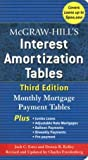 img - for McGraw-Hill's Interest Amortization Tables : Monthly Mortgage Payment Tables (Paperback)--by Jack C. Estes [2006 Edition] ISBN: 9780071468114 book / textbook / text book
