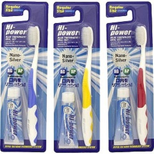 ハイパワー 歯ブラシセット レギュラー