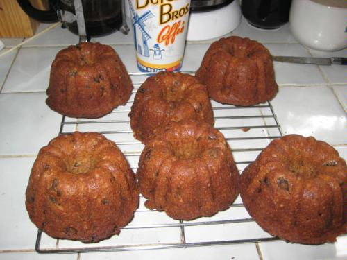 What Size Pan For Individual Rum Cakes