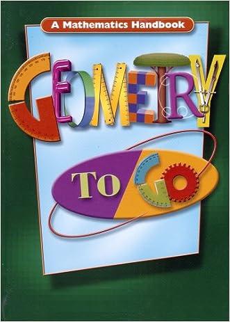 Geometry to Go: A Mathematics Handbook