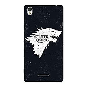 Gorgeous Comming Of Winter Back Case Cover for Sony Xperia T3