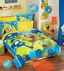 Bob Esponja Comforter Sheets Bedding Set Full