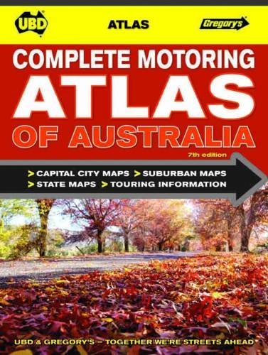 Complete Motoring Atlas of Australia 7th - spiral bound
