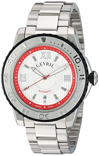 Gevril-Mens-3113B-Seacloud-Analog-Display-Automatic-Self-Wind-Silver-Watch