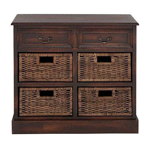 Wicker Dresser Furniture front-1067552