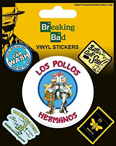 Breaking Bad - Los Pollos Hermanos, Vinyl Sticker Set Sticker Adesivo (12 x 10cm)