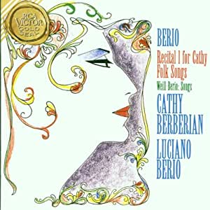 Berio Recital 1 For Cathy,folk Songs