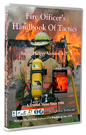 Fire Officer's Handbook Of Tactics Study Helper Version 4.0 - Knightlite