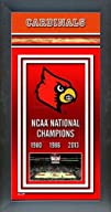 University of Louisville Cardinals Basketball Framed 2013 NCAA Men's Basketball National Champions…