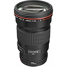 Canon EF 200mm f/2.8L II USM Telephoto Lens for Canon SLR Cameras