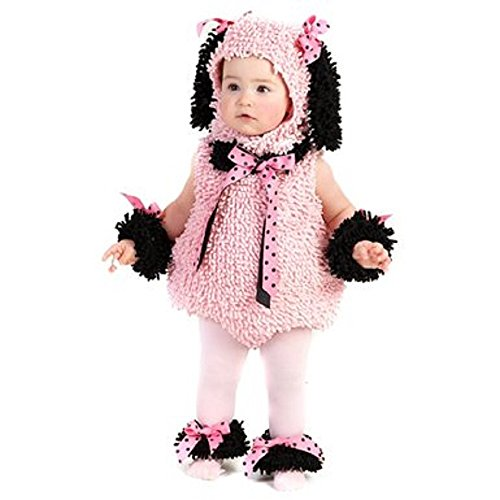 Baby Deluxe Pink Poodle Costume Size 18M-2T