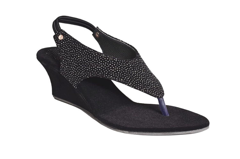 Womens sandals flipkart - Mr Polo Women S Black Velvet Wedges Sandal Rs 290 00 Flipkart Coupons
