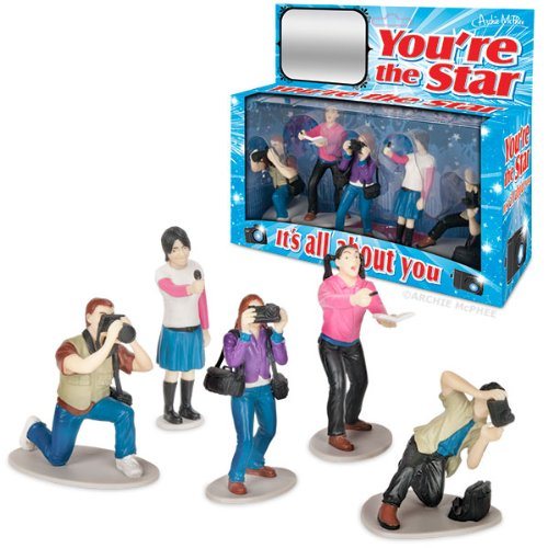 Accoutrements You're The Star Figure Playset