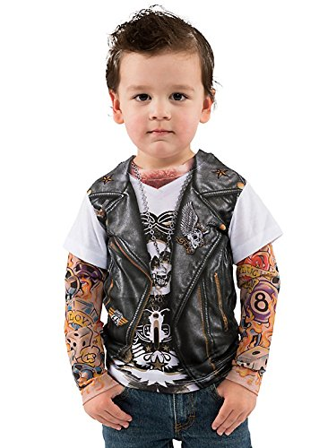 About Kids Biker Costume Shop the large inventory of costumes, reenactment, and theater ensembles including Halloween costumes and other dress-up ensembles! Additional site navigation.