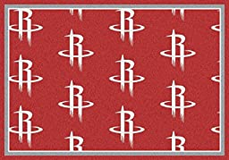 Houston Rockets NBA Area Rug (7\'8\