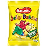 Bassett's Jelly Babies Bag 190g (Box of 12)