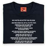 Pasties vs Religion T Shirt, Ladies