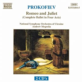 Romeo and Juliet, Op. 64 (use): Act III: Juliet Alone
