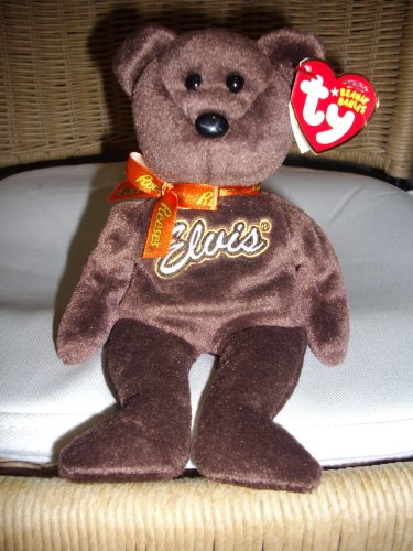 TY Beanie Baby - COCO PRESLEY the Bear (Brown Version - Walgreen's Exclusive)