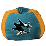 San Jose Sharks NHL Team Bean Bag (96in Round) at Amazon.com