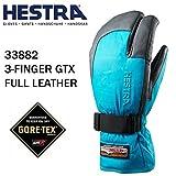 HESTRA(ヘストラ) ヘストラ スキーグローブ ミトン ゴアテックス 3-FINGER GTX FULL LEATHER/Turquise/Grey(33882-240350)(16-17 2017)hestra スキーグローブ 8