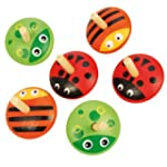 Bigjigs Toys BJ893 Animal Spinning To...