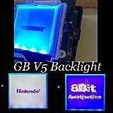 初代ゲームボーイ バックライト改造キット【カラー:ブルー】 GB V5 Backlight Complete Blue / DMG Dianziオリジナルバージョン[CXD0982] [並行輸入品]