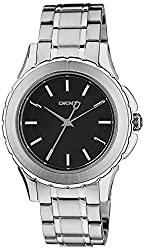 DKNY End of Season Brooklyn Chronograph Black Dial Womens Watch - Ny1522