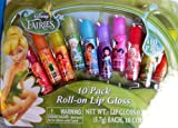 Disney Fairies 10 Pack Roll-on Lip Gloss
