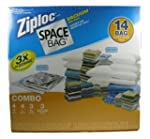 Ziploc Space Bag Vacuum Seal Bags 14...