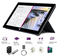 "New Microsoft Surface Pro 2 Core i5-4200U 4G 128GB 10.6"" touch screen 1920x1080 Full HD Wacom Pen Windows 8 Pro Multi-position Kickstand(4Gb 128GB) from Microsoft"
