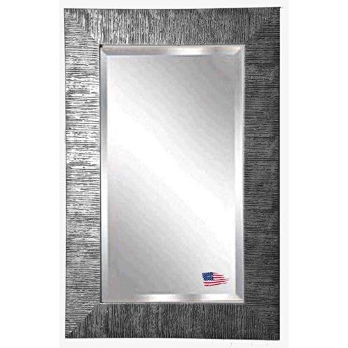 American Made Rayne Safari Silver Beveled Wall Mirror, 21.5 X 33.5 front-878807