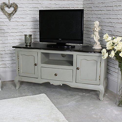 Grande vintage grigio porta televisione–Leadbury Range