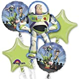 Single Source Party Supplies - 5 Balloon Toy Story Birthday Balloon Bouquet Combo