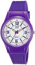 Q&Q Regular Analog White Dial Mens Watch - VQ50J020Y